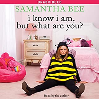 I Know I Am, But What Are You? audiobook cover art