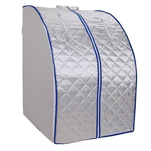 Tragbare Infrarotsauna, mobile Wärmekabine mit Infrarotwärme 1000 W