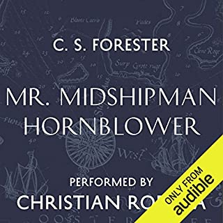 Mr Midshipman Hornblower audiobook cover art