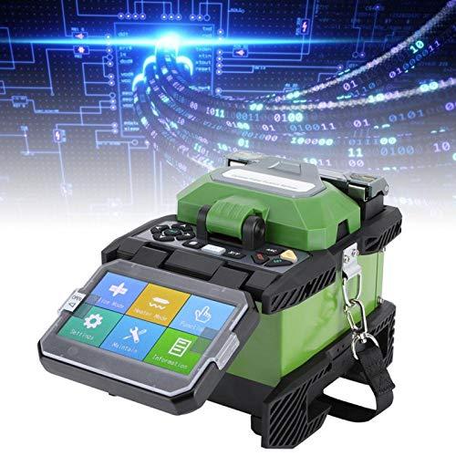 Empalmador de fusión de fibra óptica, Máquina empalmadora de fibra de alineación de...