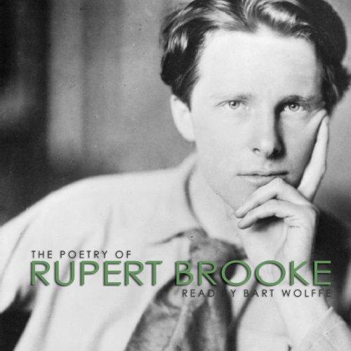 『The Poetry of Rupert Brooke』のカバーアート