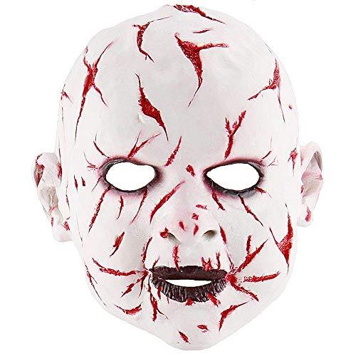 Halloween schreckliche schreckliche realistische gruselige Scary Ghost Baby Gesichtsmaske Maskerade liefert Party Requisiten Cosplay Kostüme