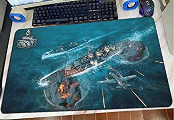Gaming Mouse Pads World of Warships Mouse Pad Popular Gaming Mousepad Anime Office Notbook Desk Mat Large Padmouse Games Pc Gamer Mats E 40×90Cm