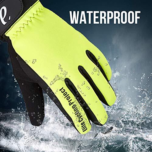 Elite Cycling Project Malmo Wasserdichte Winter Fahrradhandschuhe Gepolsterte Handflächen Thinsulate Gefüttert radsport handschuhe - 7