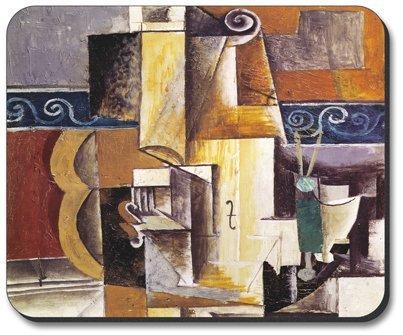 Picasso - Violine & Gitarre - Mauspad