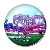 Seignosse France Atlantic Park 3D Kühlschrankmagnet Whiteboard Magnet Souvenir...