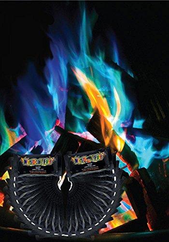Mystical Fire Flammenpulver 24er Set, Pulver für farbige Flammen