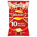 Walkers Ready Salted Crisps 10x25g