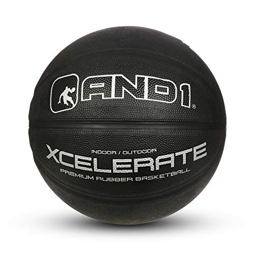 "Fantastic Deal! AND1 Xcelerate Rubber Basketball: Game Ready, Official Regulation Size 7 (29.5"") S..."