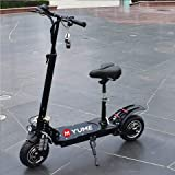 Yume Puissant 52 V 2000 W Adulte Grand Scooter Pliable Large Roue Scooter électrique Moto Patinete Electrico