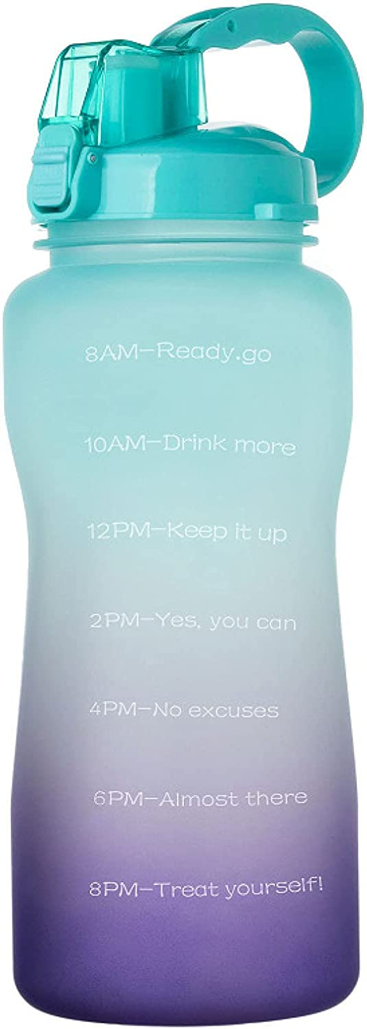 QAZW Half Baltimore Mall Gallon Motivational Water with Bottle and Time Marker Popular