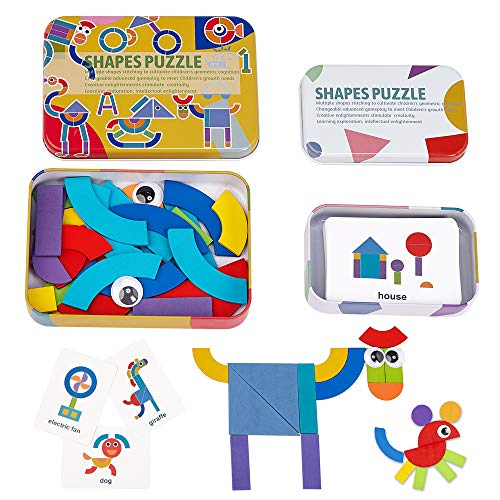 LiKee Wooden Pattern Puzzle