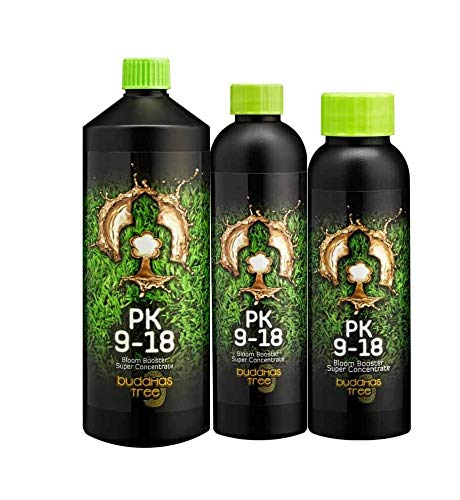 Buddhas Tree PK 9-18 1L Nutrient Booster for Hydroponic Systems
