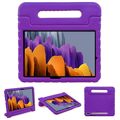 """NEWSTYLE Funda para Samsung Galaxy Tab S7 11"""" 2020 SM-T870 T875 T878,Ligero y Super Protective Funda diseñar Especialmente para los niños para Galaxy Tab S7 11 Inch 2020 (Violet)"""