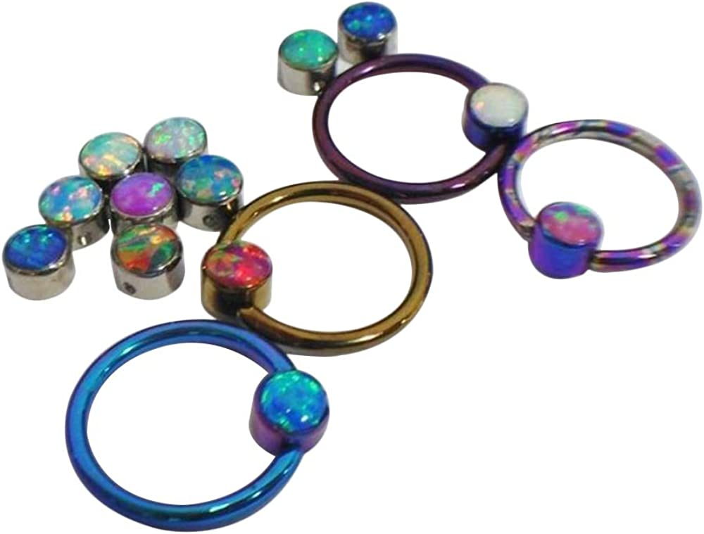Max 47% OFF Painful Pleasures Titanium Opal Large discharge sale 3mm Bead- Replacement