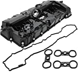 BOXI Valve Cover With PCV Valve, Gasket & Bolts Fits 3.0L BMW 2008-2013 128i 2007-2013 328i 2007-2008 328xi 2008-2011 528i 2008 528xi 2007-2012 X3 2007-2010 X5 2006-2011 Z4 11127552281,11127582245