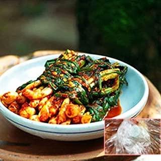 【純農園】 ネギキムチ2kg ■韓国キムチ、白菜キムチ、安心できるキムチ、美味しいキムチ、人気のキムチ■ [その他]