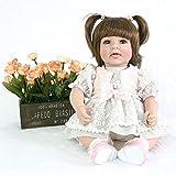ASDAD 50cm Silicona Reborn Súper Bebé Realista Niño Pequeño Bebé Bonecas Kid Doll Bebes Reborn Brinquedos Reborn Juguetes para Niños Regalos