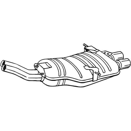 Bosal 247 515 Endschalldämpfer Auto