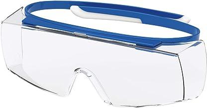 Uvex Super OTG Retail veiligheidsbril - Suprav. Excellence - Transp./blauw-wit