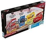 Shuffle- Tripack Cars Juego de Cartas, Multicolor (Cartamundi 108433902)