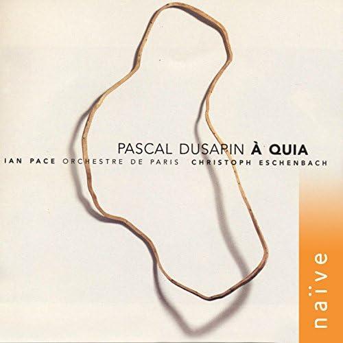 Ian Pace, Christoph Eschenbach, Orchestre de Paris