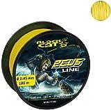 Black Cat gelb, Ø0,45mm Zeus Line 400m 37kg,82lbs, 0,45 mm