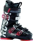 Rossignol Evo 70 Ski Boots Black/Red Mens Sz 8.5 (26.5)