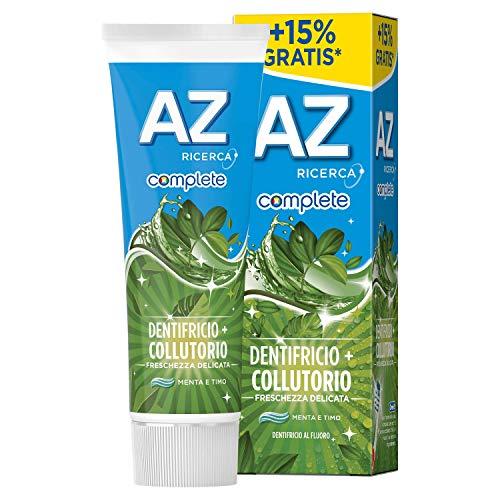 AZ Complete Dentifricio + Collutorio Freschezza Delicata, 75ml