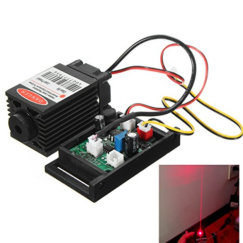 ILS - Enfocable 500mw 808nm IR Módulo de Diode Láser infrarrojo 12V + TTL + Ventilador de Enfriamiento