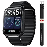 OJBK Smart Watch for Men Women 1.69' Touch Screen Fitness Smartwatch IP67 Waterproof Tracker Watch with Heart Rate and Sleep Monitor, Step Counter Sport Running Watch for Android and iOS