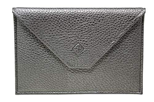 Frédéric Johns® – Papierhalter fürs Auto aus Leder – Format Briefumschlag – Schutzhülle für Kreditkarte, Führerschein, Karten, sehr komplett, weiches Leder für Damen oder Herren – J