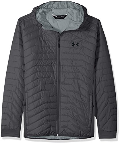 Under Armour Outerwear Men's Cold Gear Reactor Hybrid Jacket, Rhino Gray/Black, X-Large