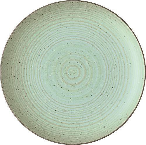 Thomas Rosenthal Nature Leaf - Frühstücksteller, Kuchenteller, Dessertteller - Teller - Steinzeug - D: 22 cm - 1 Stück