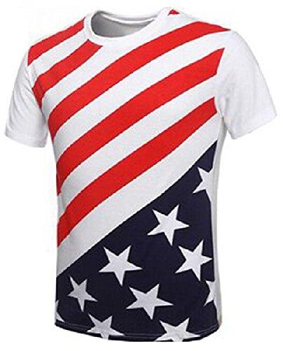 Mondial-Fete - T-Shirt américain Homme - (40/44)