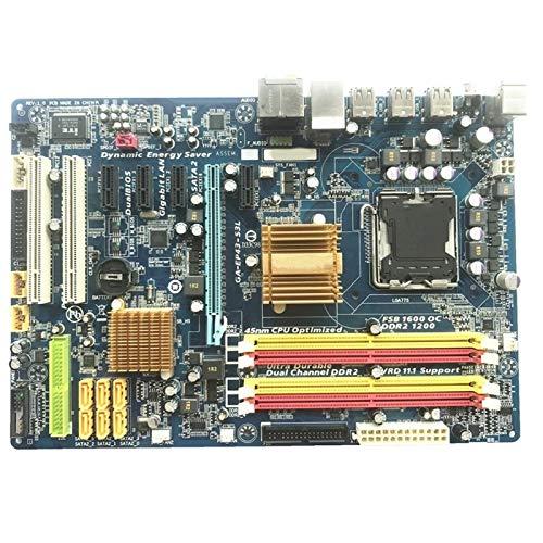 ALBBMY Compatible con Gigabyte GA-EP43-S3L placa base original para LGA 775 DDR2 Desktop Computer Mainboard 16 GB EP43-DS3L EP43-UD3L placas base P43 Gaming