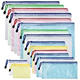 CLOSEUS 16Pcs File Bags in 8 Siz...