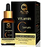 ALPHA CHOICE vitamin c serum for face, Anti aging, Reduce hyperpigmentation, Collagen boosting, Even skin tone, firming, brightening, preventing wrinkling | for Men and Women- 30ml
