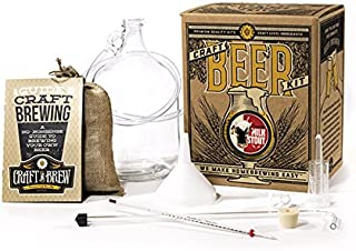 Craft A Brew Home Brewing Chocolate Milk Stout Reusable Make Your Own Beer Kit, 1 Gallon