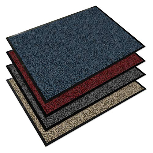 Floordirekt EVEREST Schmutzfangmatte Sky - Testsieger - Fußmatte in vielen Farben und Größen - blau-schwarz, 60x90 cm