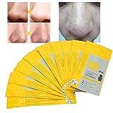 10 piezas de tiras de poro de bambú, eliminación de limpieza profunda Máscara de nariz Limpieza...