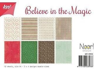 原稿用紙はA4であると信じていマジック(12ks)、喜び工芸品、紙、印刷、Scrapbooking
