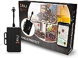 PAJ GPS Motorcycle Finder - conexión Directa a batería (9-75V) - Localizador GPS para Motos, quads y más vehículos- protección antirrobo- Rastreador GPS en Tiempo Real- Marca Alemana