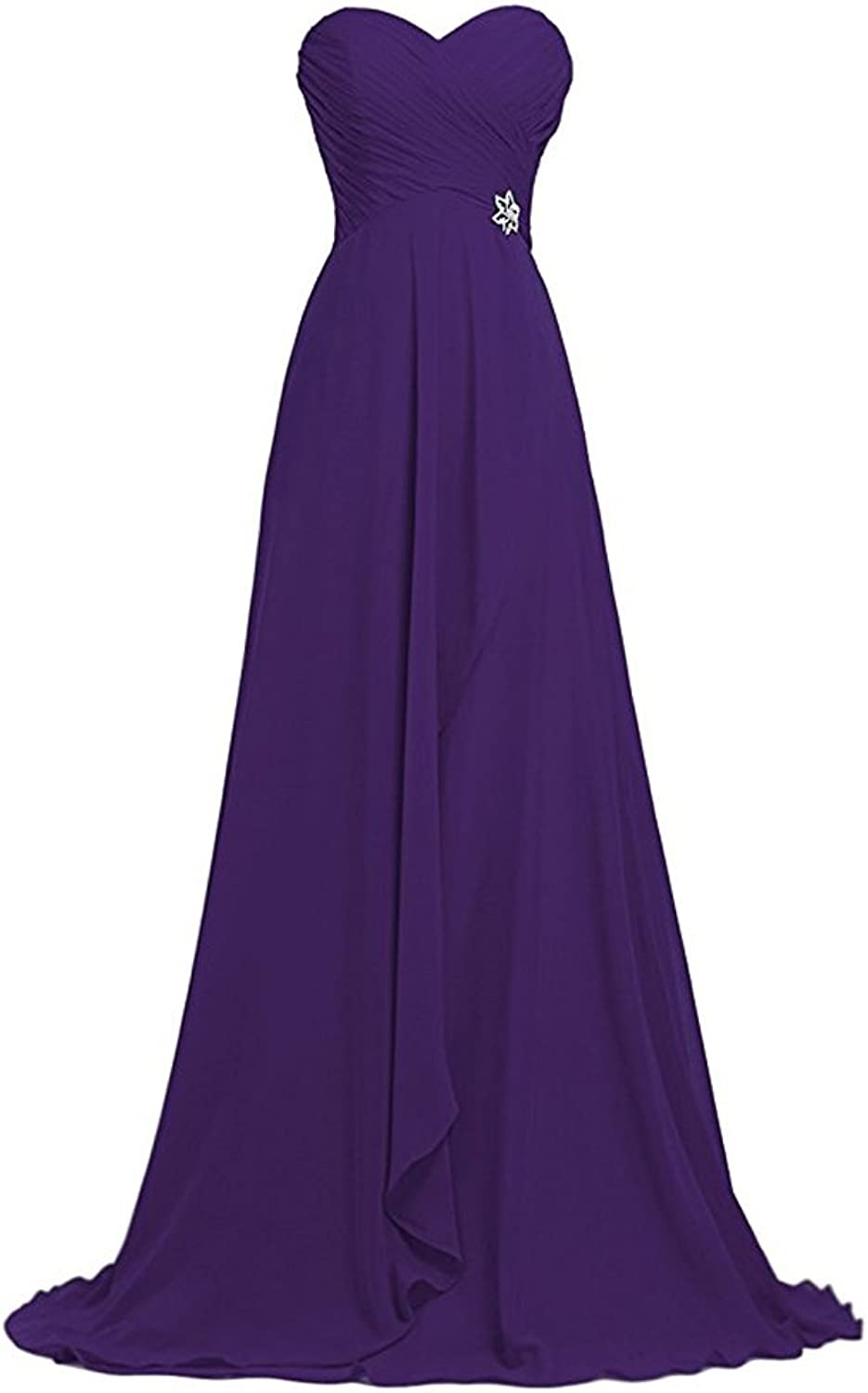 Sxfashbrd Women's Sweetheart A Line Long Formal Evening Prom Cocktail Homecoming Party Dresses Gowns