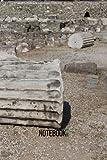 Mausoleum at Halicarnassus Notebook: blank lined composition journal   Mausoleum at Halicarnassus notebook   100 pages