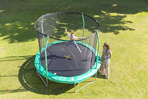 Jumpking Trampolino Combo Salti Tappeto Rete Elastico JPCO10 JumPOD 10 FT Molle
