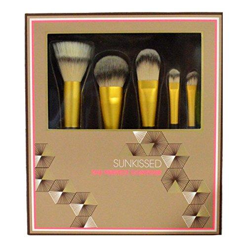 Sunkissed The Perfect Contour Lot de 5 pinceaux de maquillage