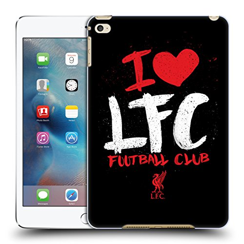 Official Liverpool Football Club I Love LFC Redmen Hard Back Case Compatible for Apple iPad mini 4