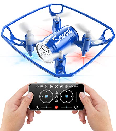 POWERbeast Mini Drone Toy for Kids and Beginners RC Helicopter Nano Quadcopter with Optical Flow Positioning, Dancing Fly to Music, Altitude Hold, Headless Mode, Flying Toys for Boys Gifts