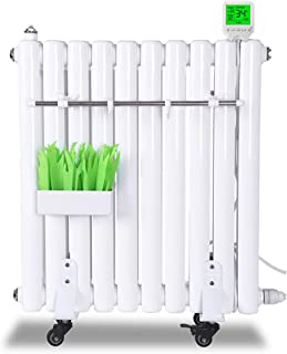 Radiador eléctrico MAHZONG Calefacción Hogar Inyección de Agua Calentador eléctrico Calefacción Inteligente Calentador Vertical